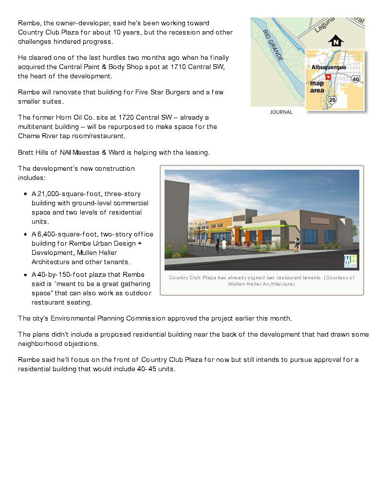 abqjournal.com-Mixeduse_plaza_planned_for_W_Central_Page_2